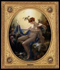 La Nouvelle Danaë, par GIRODET, huile sur toile, 65 x 54, The Minneapolis Institute of Arts