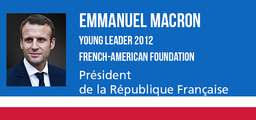 Emmanuel Macron, Young Leader 2012 Fondation franco-américaine