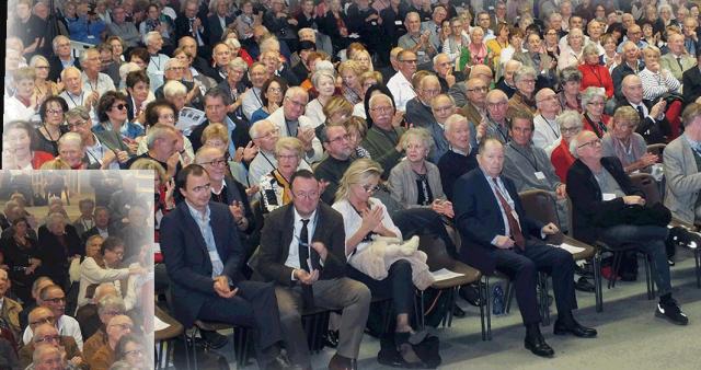 Olivier Dard au 41ème Congrès national du Cercle algérianiste à Hyères le 4 novembre 2017
